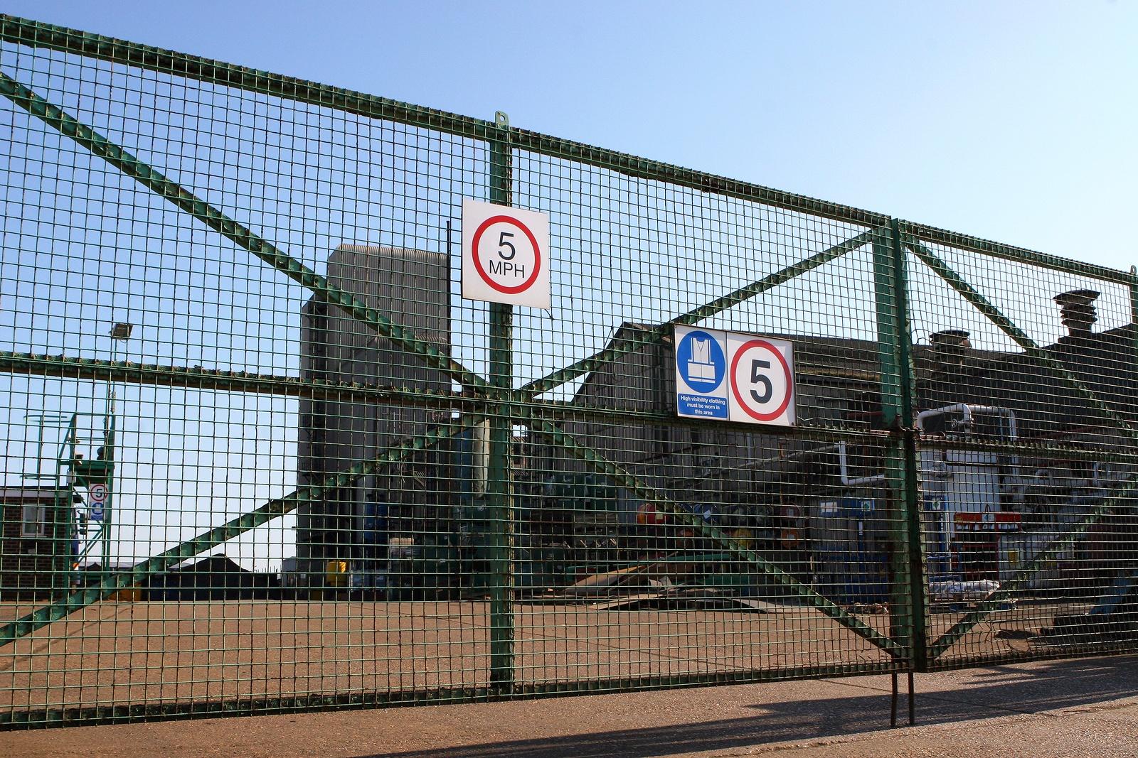 factory gate