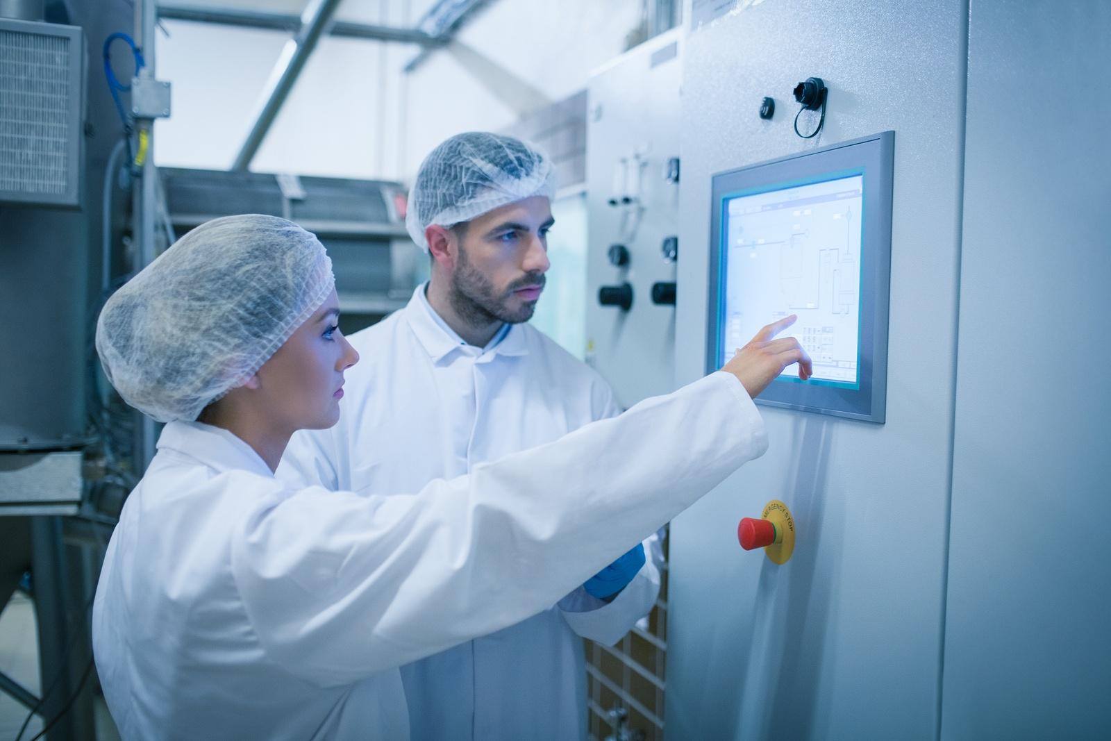 bigstock-Food-technicians-working-toget-80075318