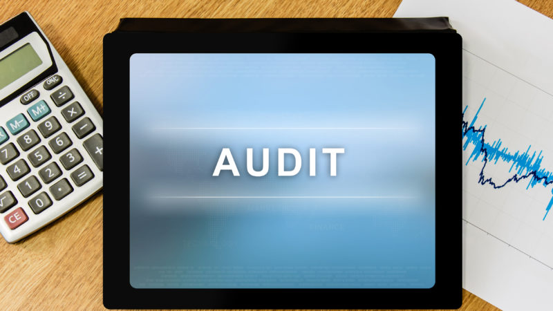 tablet audit screen