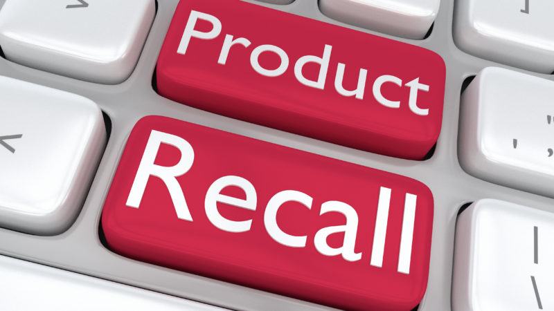 product recall keyboard