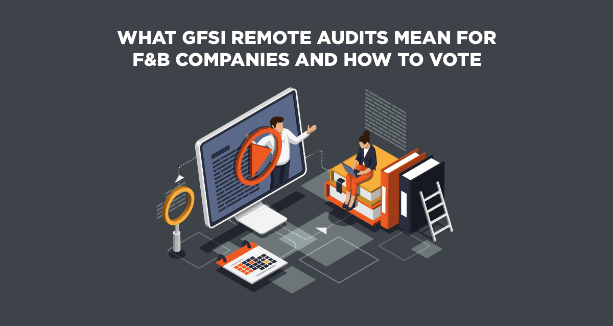Image of food workers considering remote audits for GFSI certification.