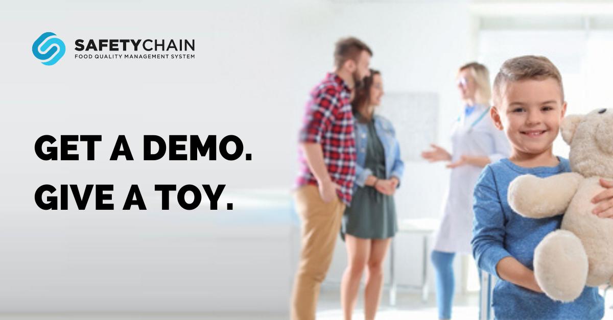 LI Size - Get a Demo. Give a Toy.